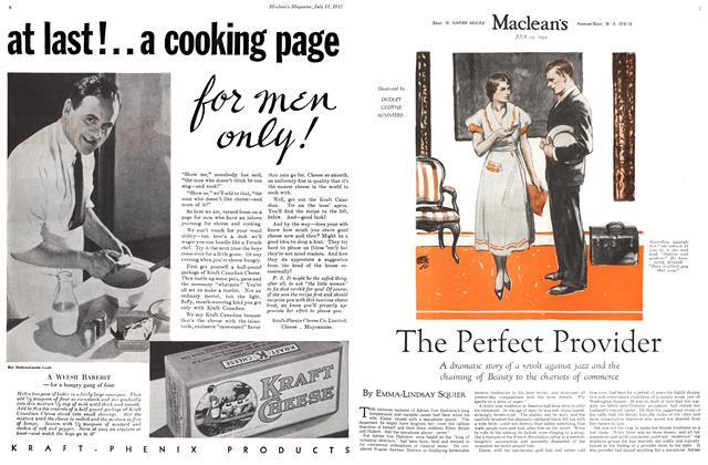 Article Preview: The Perfect Provider, July 15th 1932 1932 | Maclean's