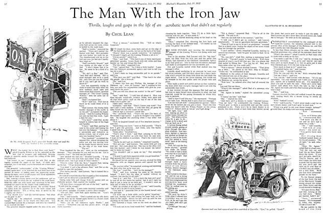 Article Preview: The Man With the Iron Jaw, July 15th 1932 1932 | Maclean's