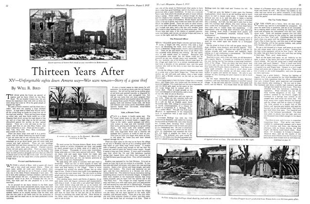 Article Preview: Thirteen Years After, August 1st 1932 1932 | Maclean's