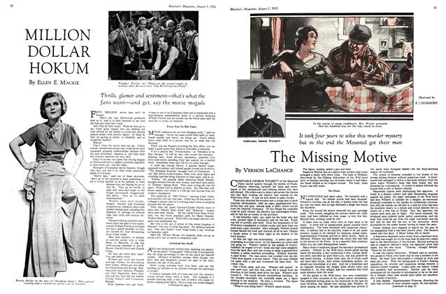 Article Preview: The Missing Motive, August 1st 1932 1932 | Maclean's