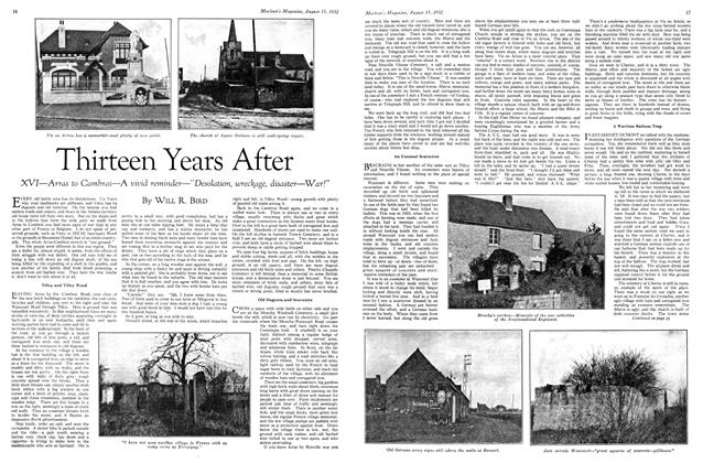 Article Preview: Thirteen Years After, August 15 th 1932 1932 | Maclean's