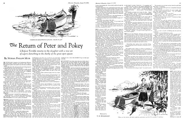 Article Preview: The Return of Peter and Pokey, August 15 th 1932 1932 | Maclean's