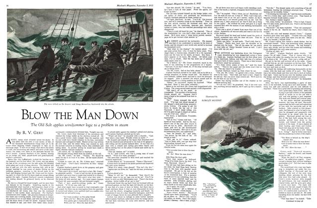 Article Preview: BLOW THE MAN DOWN, SEPTEMBER 1st, 1932 1932 | Maclean's