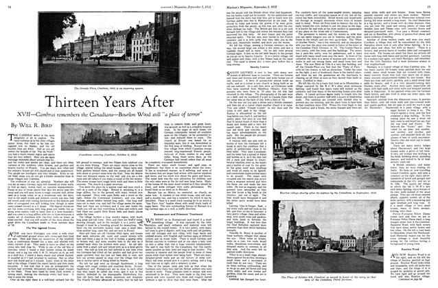 Article Preview: Thirteen Years After, SEPTEMBER 1st, 1932 1932 | Maclean's