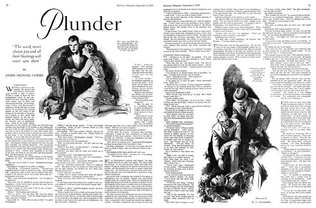 Article Preview: Plunder, SEPTEMBER 1st, 1932 1932 | Maclean's