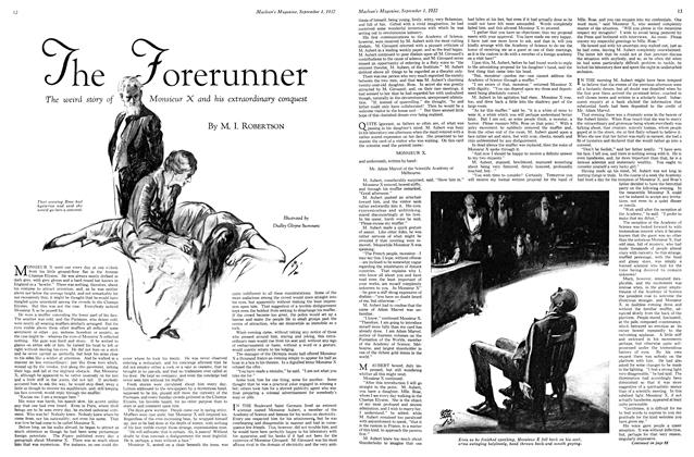 Article Preview: The Forerunner, SEPTEMBER 1st, 1932 1932 | Maclean's