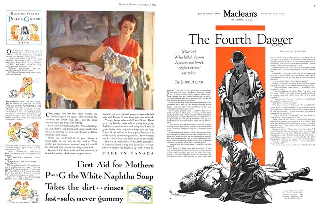 Article Preview: The Fourth Dagger, September 15th 1932 1932 | Maclean's