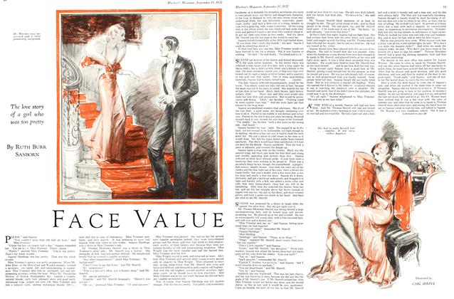 Article Preview: FACE VALUE, September 15th 1932 1932 | Maclean's