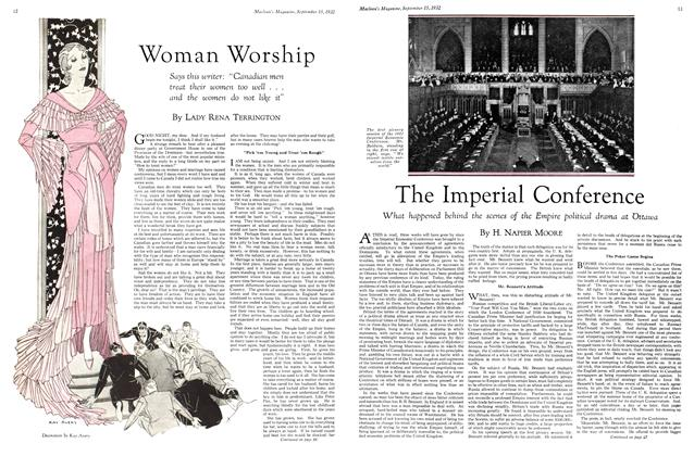 Article Preview: The Imperial Conference, September 15th 1932 1932 | Maclean's