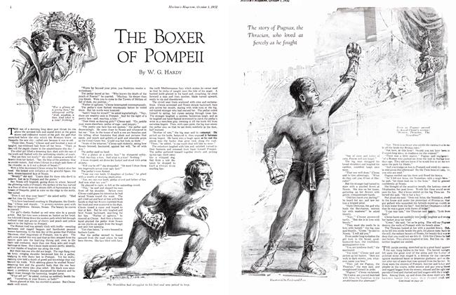 Article Preview: THE BOXER OF POMPEII, October 1st 1932 1932 | Maclean's