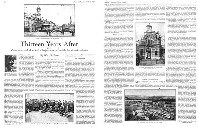 Article Preview: Thirteen Years After, October 1st 1932 1932 | Maclean's