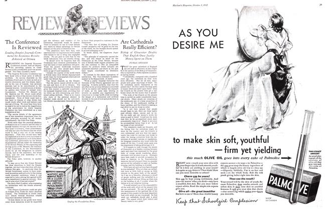 Article Preview: Are Cathedrals Really Efficient?, October 1st 1932 1932   Maclean's