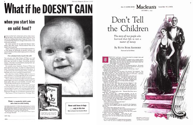 Article Preview: Don't Tell the Children, October 1st 1932 1932 | Maclean's