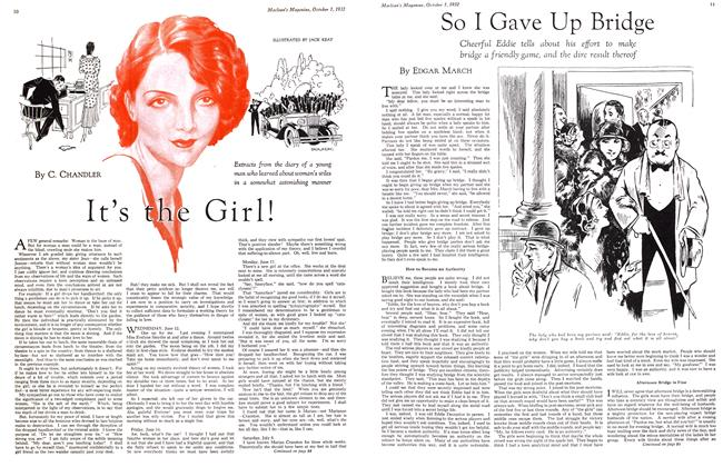 Article Preview: So I Gave Up Bridge, October 1st 1932 1932 | Maclean's