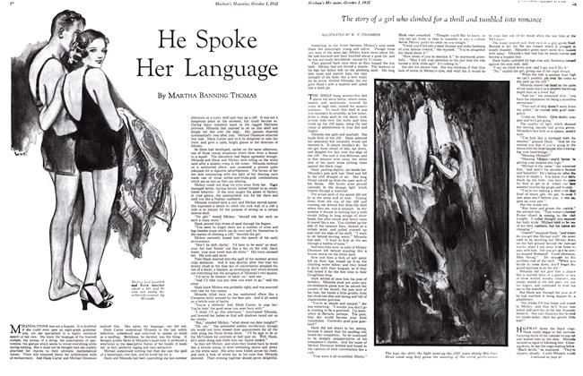 Article Preview: He Spoke Her Language, October 1st 1932 1932 | Maclean's