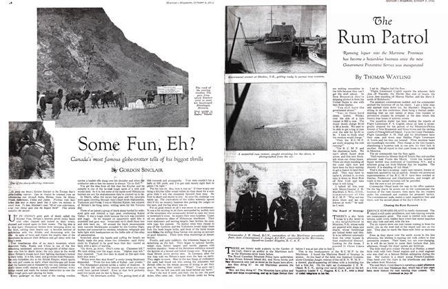 Article Preview: Some Fun, Eh?, October 1st 1932 1932 | Maclean's