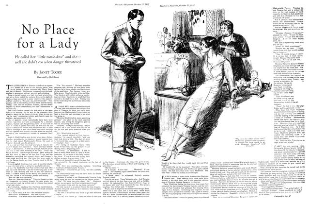 Article Preview: No Place for a Lady, October 15th 1932 1932 | Maclean's