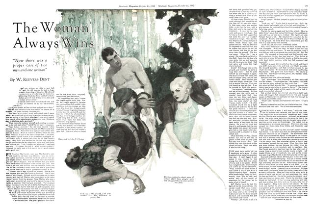 Article Preview: The Woman Always Wins, October 15th 1932 1932 | Maclean's