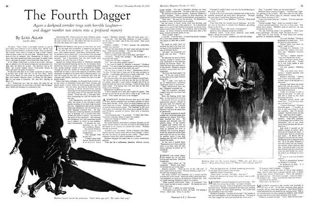 Article Preview: The Fourth Dagger, October 15th 1932 1932 | Maclean's