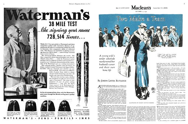 Article Preview: Two Make a Team, October 15th 1932 1932 | Maclean's