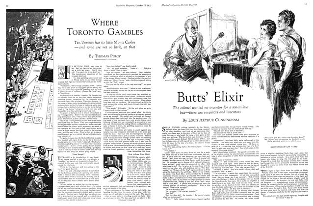 Article Preview: Butts' Elixir, October 15th 1932 1932 | Maclean's