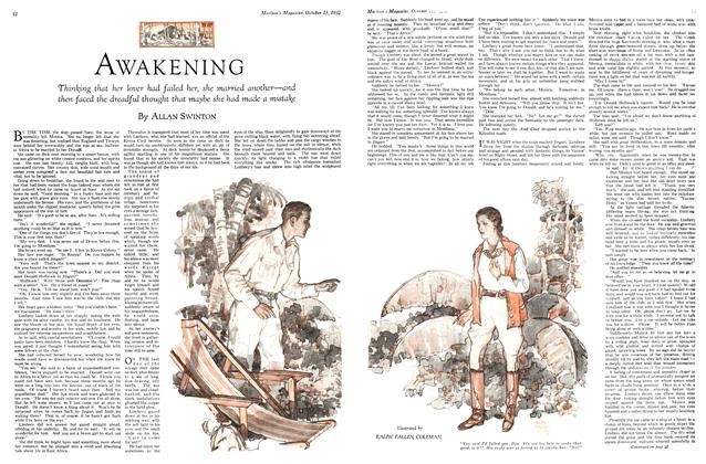 Article Preview: AWAKENING, October 15th 1932 1932 | Maclean's