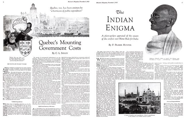 Article Preview: The INDIAN ENIGMA, November 1st 1932 1932 | Maclean's