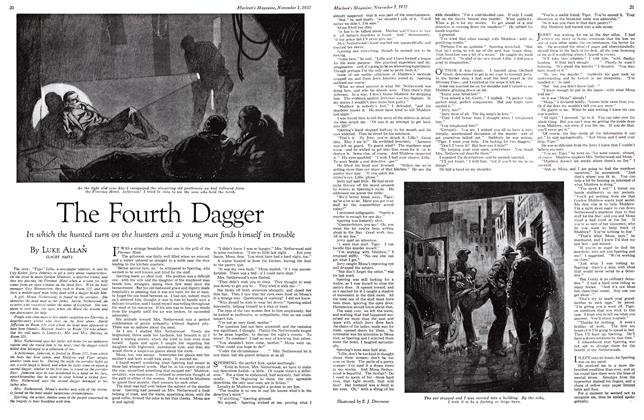 Article Preview: The Fourth Dagger, November 1st 1932 1932 | Maclean's