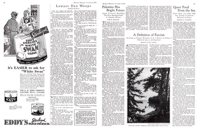 Article Preview: Queer Food From the Sea, November 1st 1932 1932 | Maclean's
