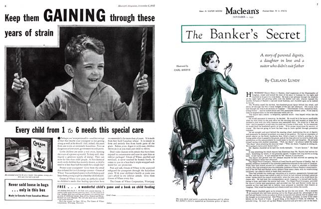 Article Preview: The Banker's Secret, November 1st 1932 1932 | Maclean's