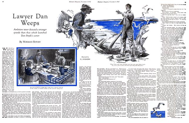 Article Preview: Lawyer Dan Weeps, November 1st 1932 1932 | Maclean's