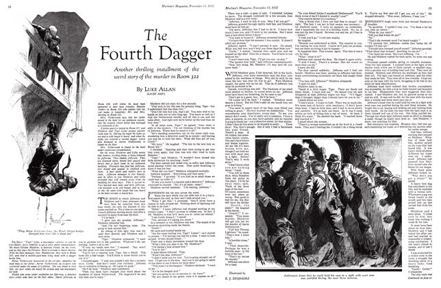Article Preview: The Fourth Dagger, November 15TH 1932 1932 | Maclean's