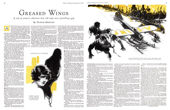 Article Preview: GREASED WINGS, November 15TH 1932 1932 | Maclean's