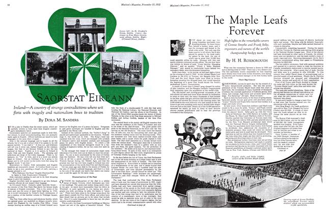 Article Preview: The Maple Leafs Forever, November 15TH 1932 1932 | Maclean's