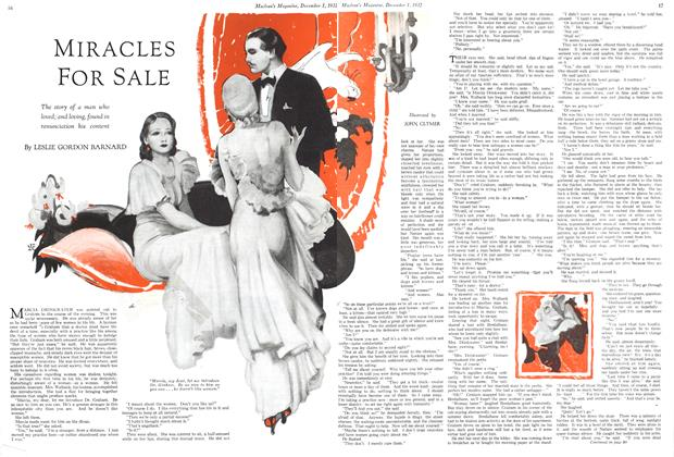 Article Preview: MIRACLES FOR SALE, December 1ST 1932 1932 | Maclean's