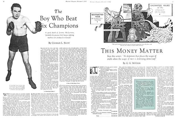 Article Preview: THIS MONEY MATTER, December 1ST 1932 1932 | Maclean's