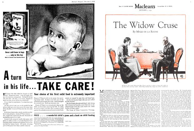 Article Preview: The Widow Cruse, December 1ST 1932 1932 | Maclean's