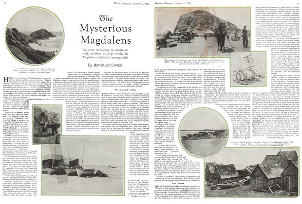 Article Preview: The Mysterious Magdalens, December 1ST 1932 1932 | Maclean's