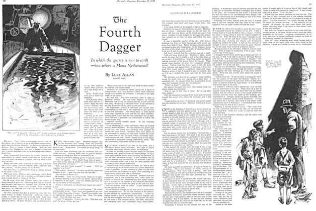Article Preview: The Fourth Dagger, December 15TH 1932 1932 | Maclean's