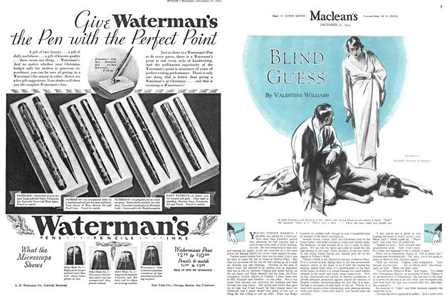 Article Preview: BLIND GUESS, December 15TH 1932 1932 | Maclean's