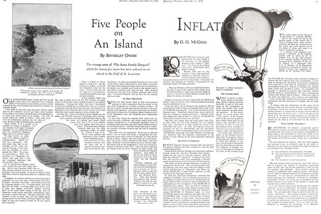 Article Preview: Five People on An Island, December 15TH 1932 1932 | Maclean's