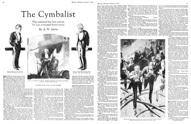 Article Preview: The Cymbalist, January 1st 1933 1933 | Maclean's