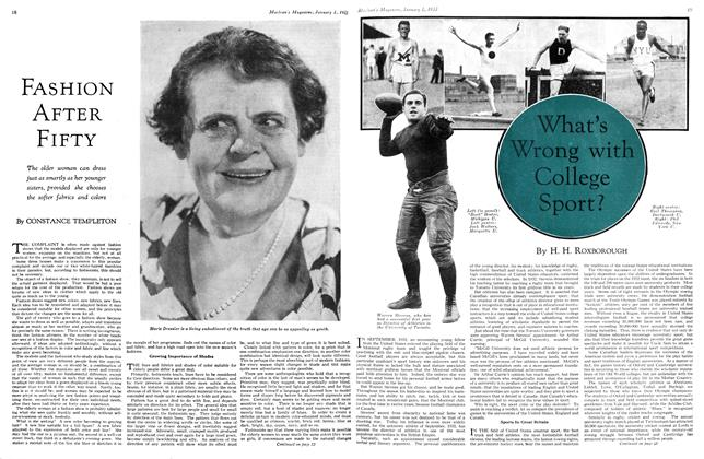 Article Preview: What's Wrong with College Sport?, January 1st 1933 1933 | Maclean's
