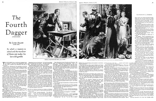 Article Preview: The Fourth Dagger (CONCLUSION), January 1st 1933 1933 | Maclean's
