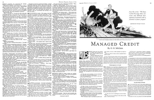 Article Preview: MANAGED CREDIT, January 1st 1933 1933 | Maclean's