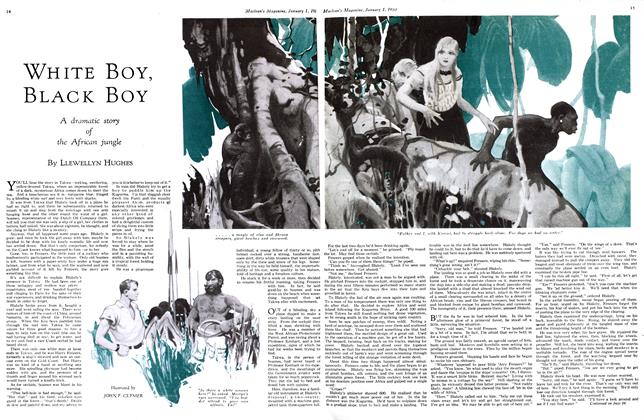Article Preview: WHITE BOY, BLACK BOY, January 1st 1933 1933 | Maclean's