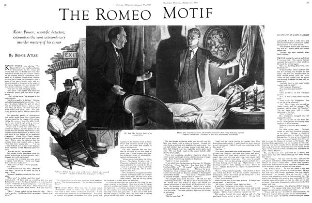 Article Preview: THE ROMEO MOTIF, January 15TH 1933 1933 | Maclean's