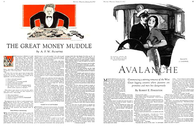 Article Preview: THE GREAT MONEY MUDDLE, January 15TH 1933 1933 | Maclean's