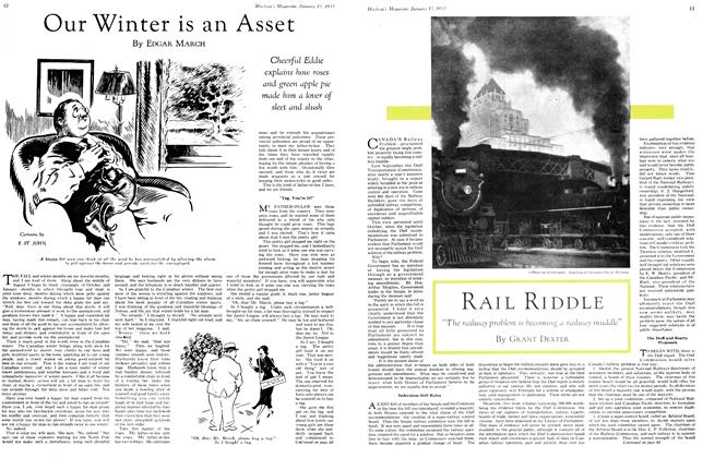 Article Preview: Our Winter is an Asset, January 15TH 1933 1933 | Maclean's