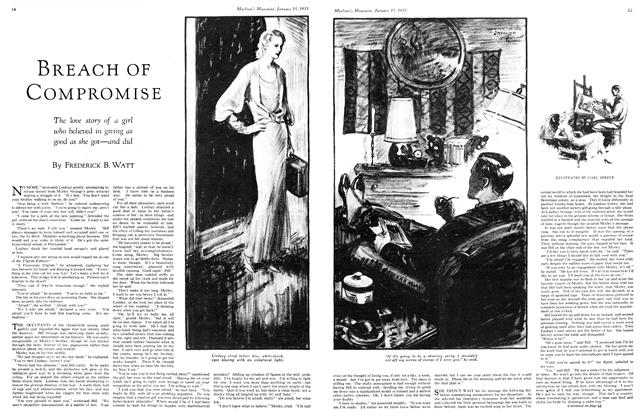 Article Preview: BREACH OF COMPROMISE, January 15TH 1933 1933 | Maclean's